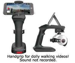 CGO2 Camera Handgrip with cell phone